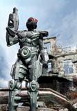 futuristic soldier-