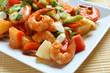 Leinwanddruck Bild - Sweet and Sour Shrimp