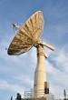 Leinwanddruck Bild - Satellite Communications Dish