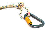 isolated alpinism carabiner