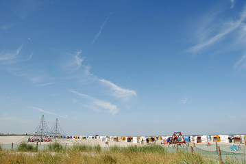 Am Strand von Norddecih