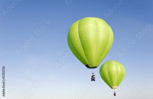 Foto Spatwand Ballon mongolfière