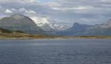 Norwegian coastline poster