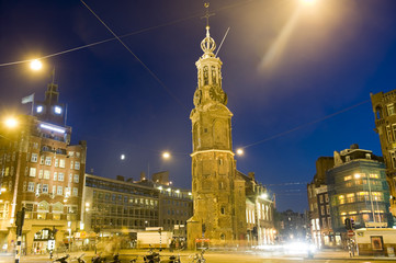 Amsterdam: Munttoren (tower) in Centrum