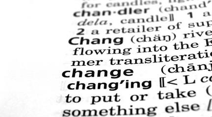 Change Defined