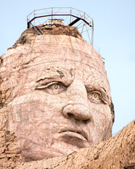 Crazy Horse Memorial - Facial Closeup