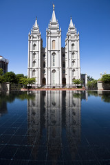 Momon Temple in Salt Lake City