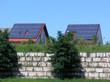 Zwei Solardächer