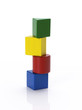 Balanced colourful blocks