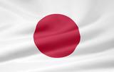 Fototapety Flagge von Japan