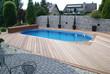 Ovalpool in Holzterasse - 15801541