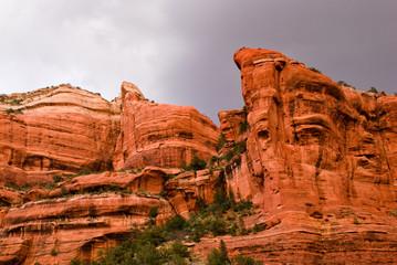 Stormy skies over Boynton Canyon