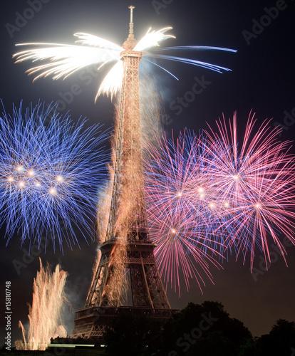 Feux d'artifice Tour Eiffel 9