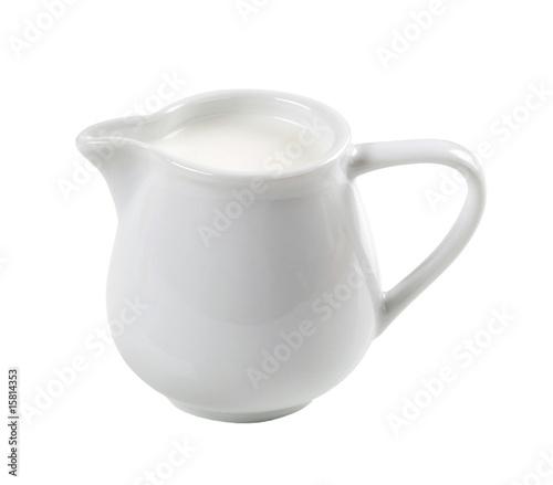 Jug of fresh milk - 15814353