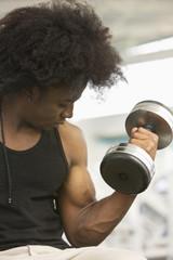 strong man black man