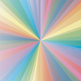 Abstract Spectrum Background illustration rainbow fresh colors poster
