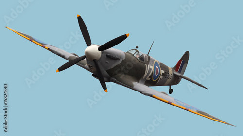 Isolated Spitfire - 15824540