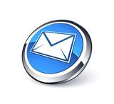 Fototapety icône e-mail, courrier électronique