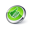icône pouce levé / ok / valider