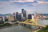 Pittsburgh Skyline During Daytime poster