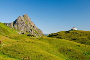 Zollhütte mit Schwarzhorn