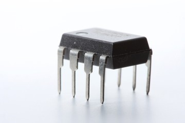 Op-amp on white