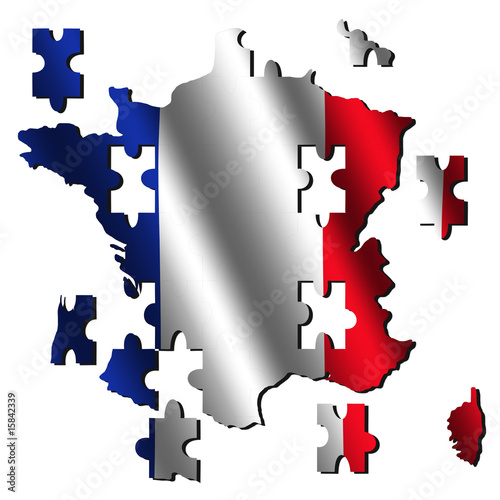 France Map Flag.France Map Flag Jigsaw Buy Photos Ap Images Detailview