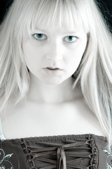 Scary blonde