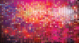 Fototapety vector mosaic of colorful squares