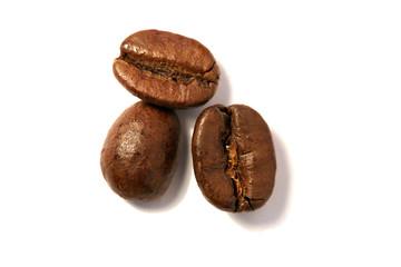 CAFÉ - Trois grains détourés