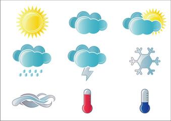 Forecast Weather icon set