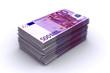 500 Euro Stapel