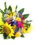 Mazzo fiori giallo particolare sx