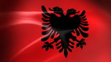 Albanian Flag - HD Loop