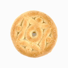 Single round cookie