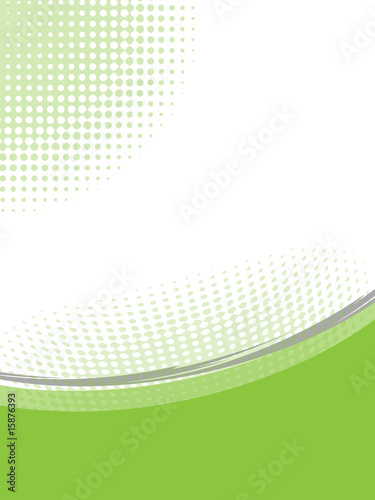 hellgrüner Hintergrund Briefpapier Vector