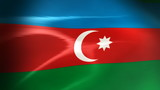 Azerbaijani Flag - HD Loop