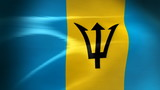 Barbados Flag - HD Loop
