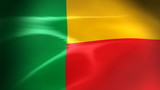 Benin Flag - HD Loop