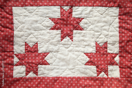 quilted star piece