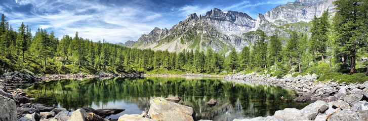 Lago Nero Parco Nazionale Devero Veglia