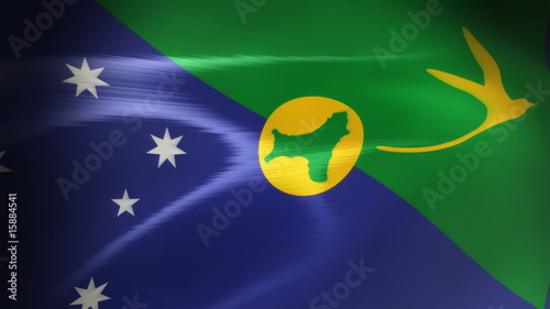 Christmas island Flag - HD Loop