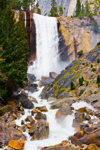 Vernal Fall in Yosemite National Park