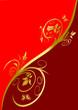 Floral Design Karte