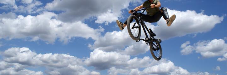 bicross et ciel