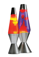 retro decor, lava lamps