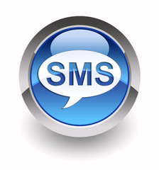 SMS glossy icon