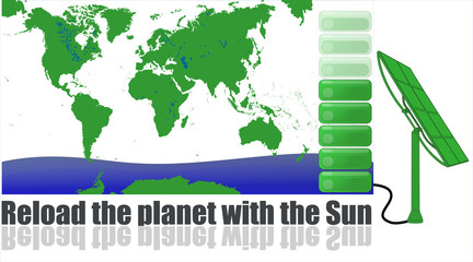 Reload the planet with the Sun