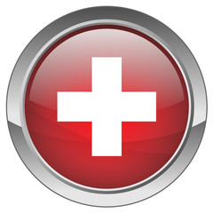 "Bouton ""Premiers Secours"" - ""First Aid"" button"