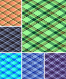 Collection of seamless plaid patterns. Volume 11 poster